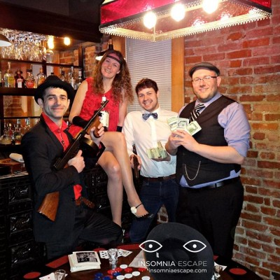 escape room events DC